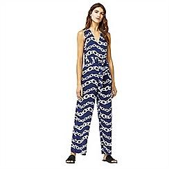 Warehouse - Chain print cotton jumpsuit
