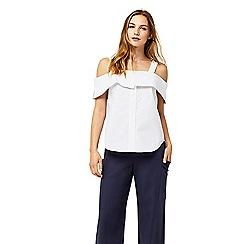 Warehouse - Button through cotton camisole top