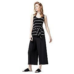 Warehouse - Stripe tie front vest