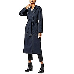 Warehouse - Check lined trench coat