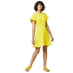 Warehouse - Flared sleeve skater dress