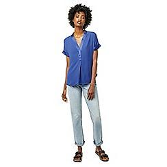 Warehouse - Satin mix blouse