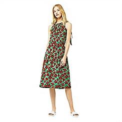 Warehouse - Woodblock print dress