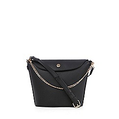 Warehouse - Popper and chain bucket bag