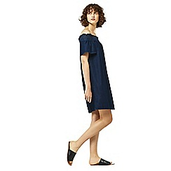 Warehouse - Ruched dress