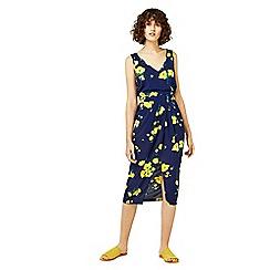 Warehouse - Delia flower sleeveless dress