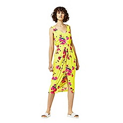Warehouse - Delia flower sleeveless dress
