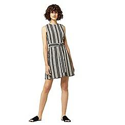 Warehouse - Link jacquard dress