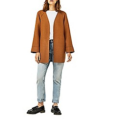 Warehouse - Short bonded swing coat