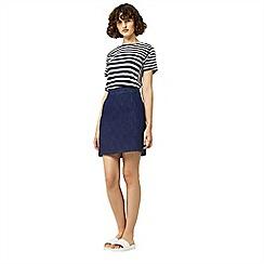Warehouse - A line denim skirt