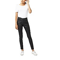 Warehouse - Coated skinny cut jeans