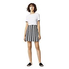 Warehouse - Link jacquard skirt