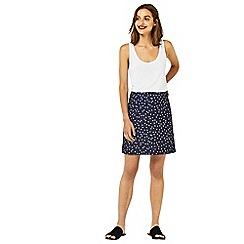 Warehouse - Crinkle spot skirt