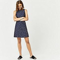 Warehouse - Crinkle spot dress