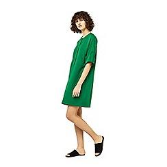 Warehouse - Popper detail dress
