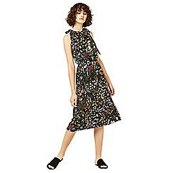 Warehouse - Wild garden print midi dress