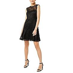 Warehouse - Lace sweetheart dress