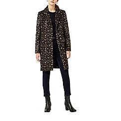 Warehouse - Animal print coat