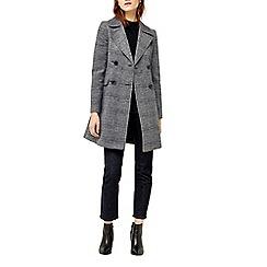 Warehouse - Check collar coat