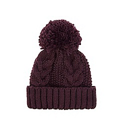 Warehouse - Cable knit hat