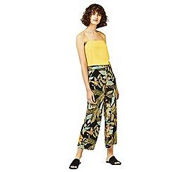 Warehouse - Tropical garden culottes