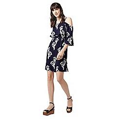 Warehouse - Iris cold shoulder dress