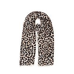 Warehouse - Leopard print scarf