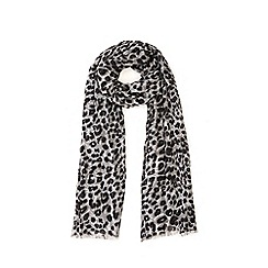 Warehouse - Leopard print scarf