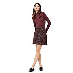 Warehouse - Victoria tweed skirt