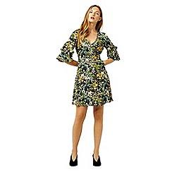 Warehouse - Painted meadow tea dress