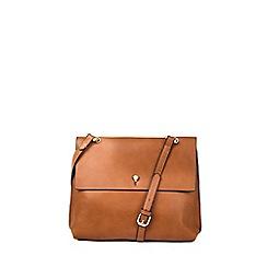 Warehouse - Keyhole satchel