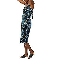 Warehouse - Full bloom midi dress