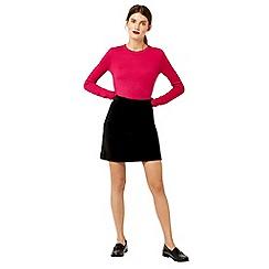 Warehouse - Velvet skirt