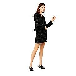 Warehouse - Sparkle tweed skirt