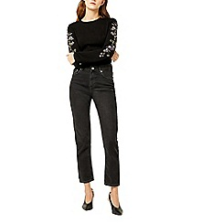 Warehouse - Embroidered sleeves jumper
