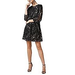 Warehouse - Sparkle star dress