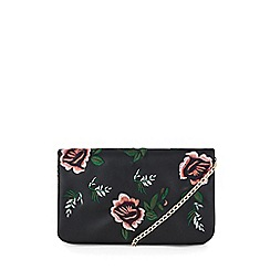 Warehouse - Embroidered detail crossbody bag