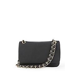 Warehouse - Weaved chain strap crossbody bag
