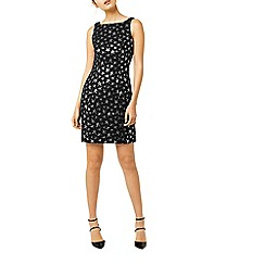 Warehouse - Star jacquard pencil dress