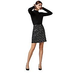 Warehouse - Star jacquard pelmet skirt