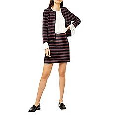 Warehouse - Bridget stripe skirt
