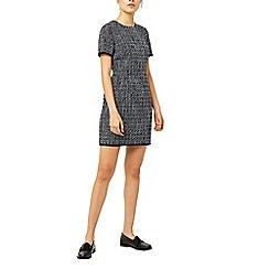 Warehouse - Bridget tweed shift dress