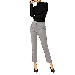 Warehouse - Dogstooth slim leg trousers