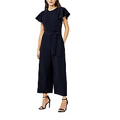 Warehouse - Frill sleeves jumpsuit