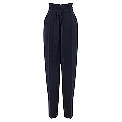 Warehouse - Paper bag peg trousers