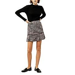 Warehouse - Molly tweed pelmet skirt