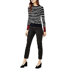 Warehouse - Stripe long sleeve jumper