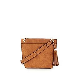 Warehouse - Tassel pocket detail crossbody bag