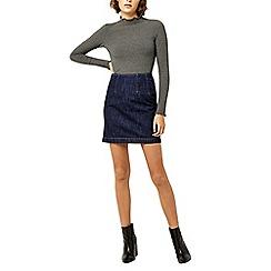 Warehouse - Seam detail pelmet skirt