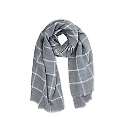 Warehouse - Window pane checked scarf